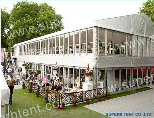 Алюминиевый двухэтажный шатер 36х12 Производитель: «SUPERB or OEM» (Китай)