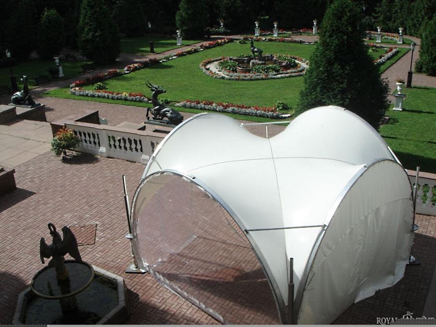 Арочный шатер ARCH EVENT RT12/3,5 в парке