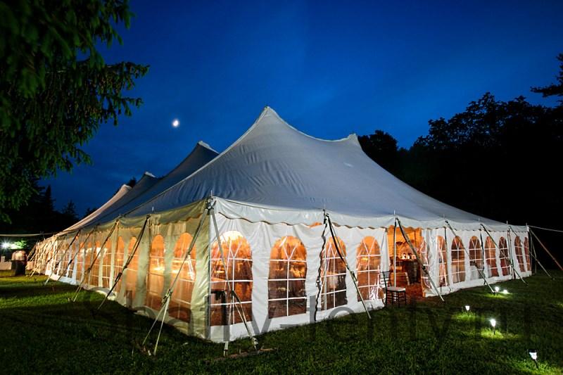 Большой классический шатер для мероприятий