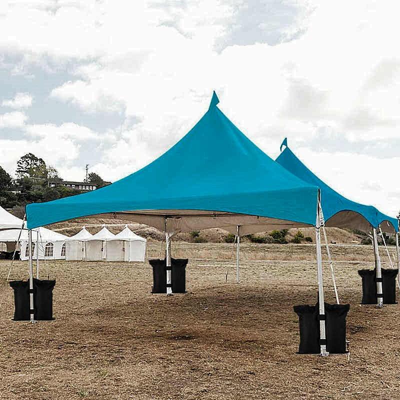 Быстросборный шатер на раскладном каркасе хорошо подходит для организации временных укрытий от солнца и дождя на крыше