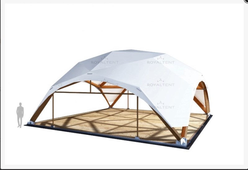Деревянный шатер «WOOD RT 144/12» Производитель: RoyalTent (Россия)