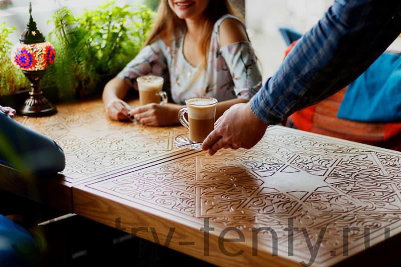 Молоко или сливки в кофе является дополнительной продажей