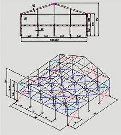 Двухэтажный шатер 20х20 м схема с размерами