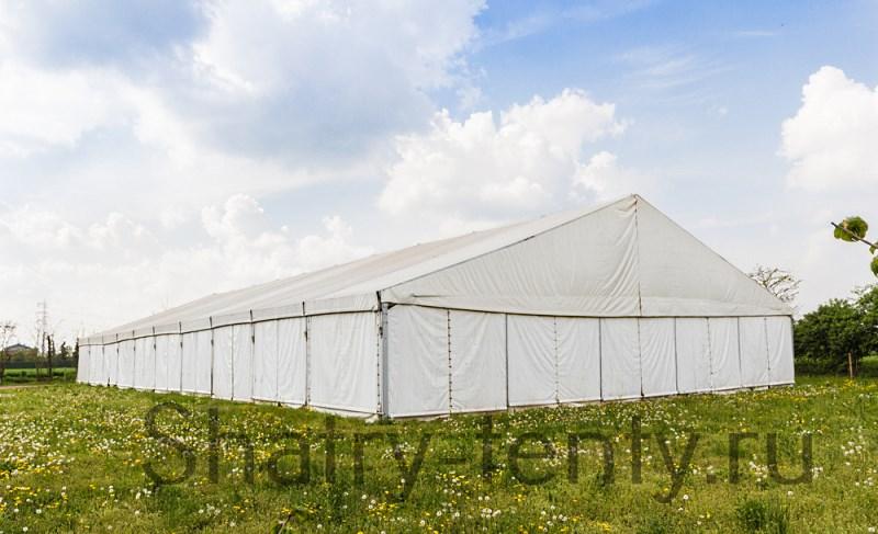 Большой двухскатный шатер для бизнеса