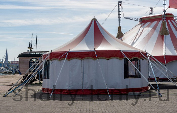 Элементы мобильной инфраструктуры цирка