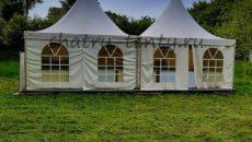 Изящные шатры-павильоны пагода
