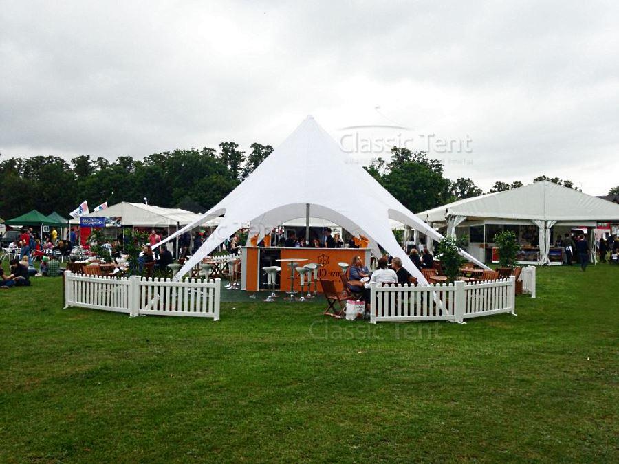 Кафе-бар под большим шатром-тентом Звезда