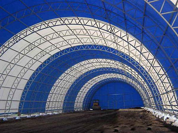 Каркасно-тентовая конструкция, компания Тент кубани, Россия