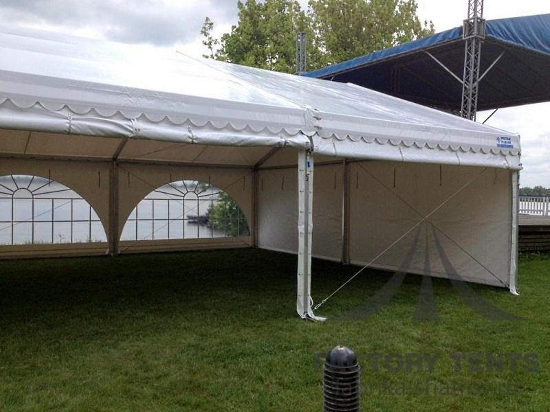 Классический двухскатный шатер для аттракционов