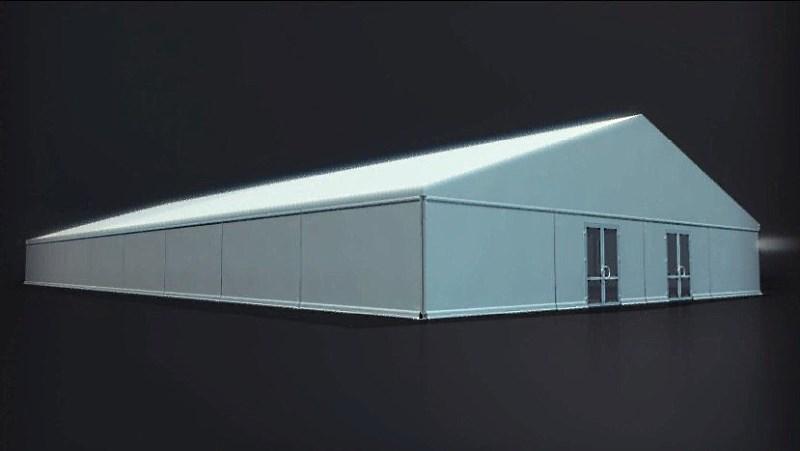 классический двухскатный шатер 40х20. компания Империалтент