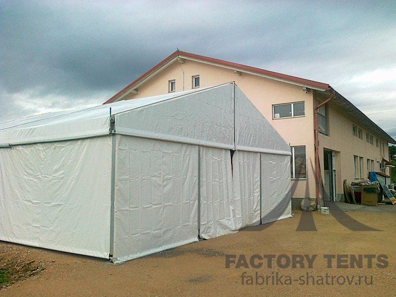 Классический шатер вместительностью 150 человек