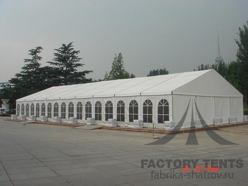 Классический шатер 20х40 для мероприятий, компания Фабрика Шатров