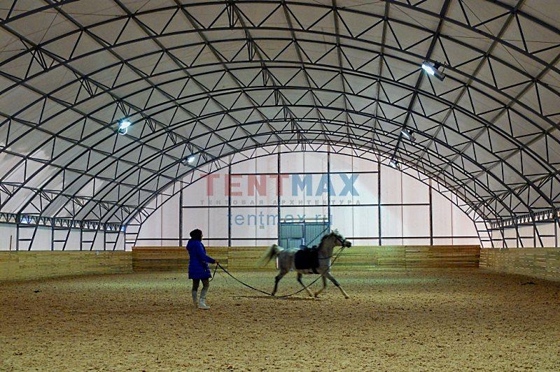 Конноспортивный манеж 22 х 40 м Производитель: TENTMAX (Россия)