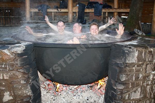 Круглая «Закарпатская баня» Производитель: «Банных дел мастерская» (Украина)