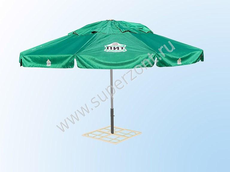 Круглый зонт диаметр 5м Производитель: Тентовая компания «Зонт» (Россия)
