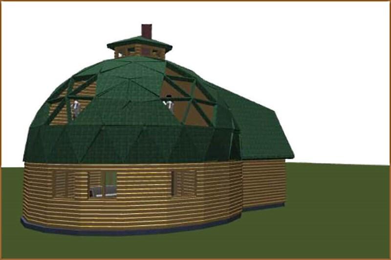 Купольный дом компании Благострой