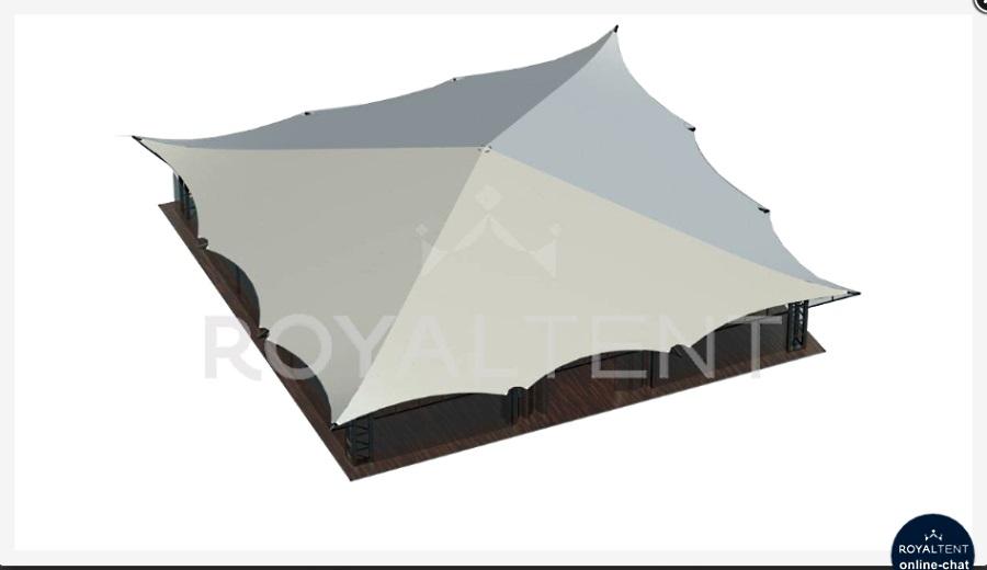 "Мембранный шатер ""Пагода"" РоялТент"