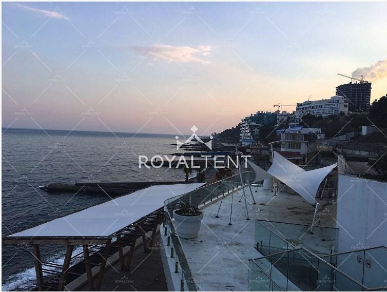 Мембранный шатер «Парус 1» Производитель: «RoyalTent» (Россия)