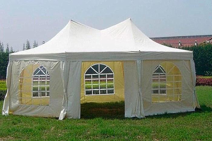 Многогранный шатры для банкетного зала