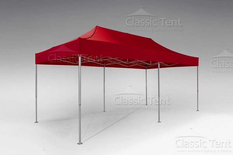 Мобильный шатер 3х6 м компании Классик тент