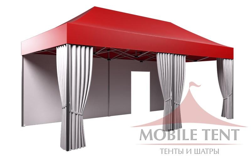 Мобильный шатер 3х6 м компании Мобайл тент