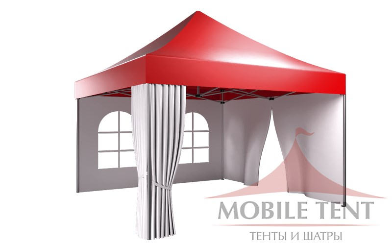 Мобильный шатер 4х4 компания Мобайл-тент