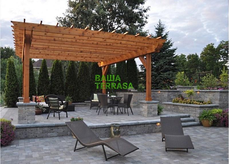 Навес-пергола, производитель: «Ваша терраса» (Украина)