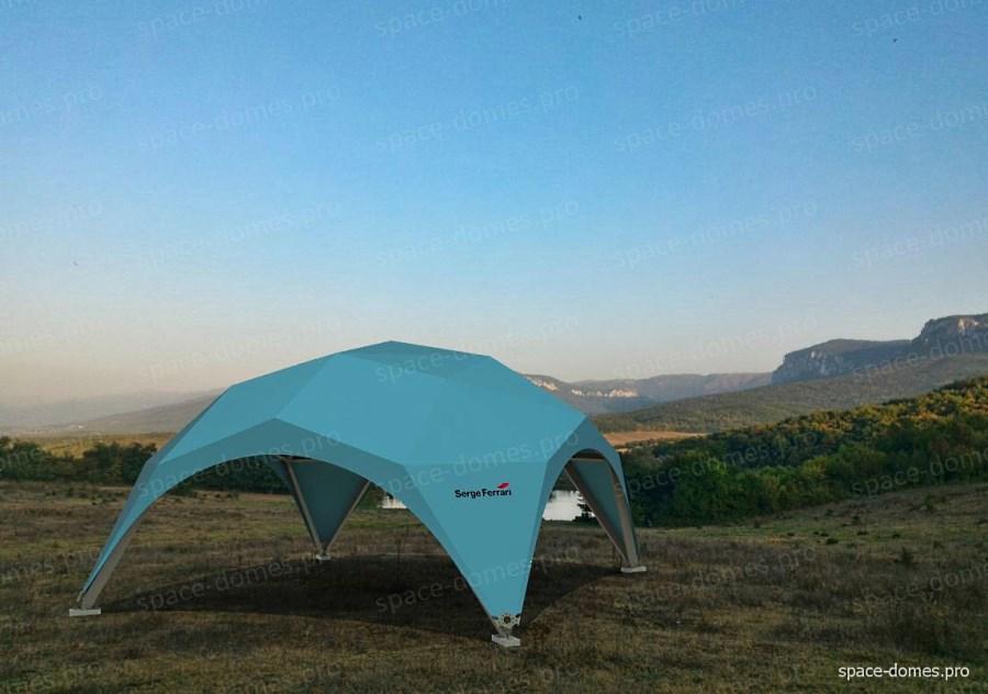 Окто-купол в форме усеченной сферы