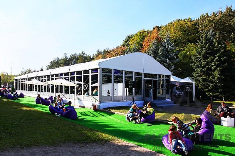 Организация мероприятия в шатре на 200 песетителей
