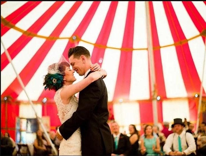 Проведение свадьбы в шапито - современный тренд