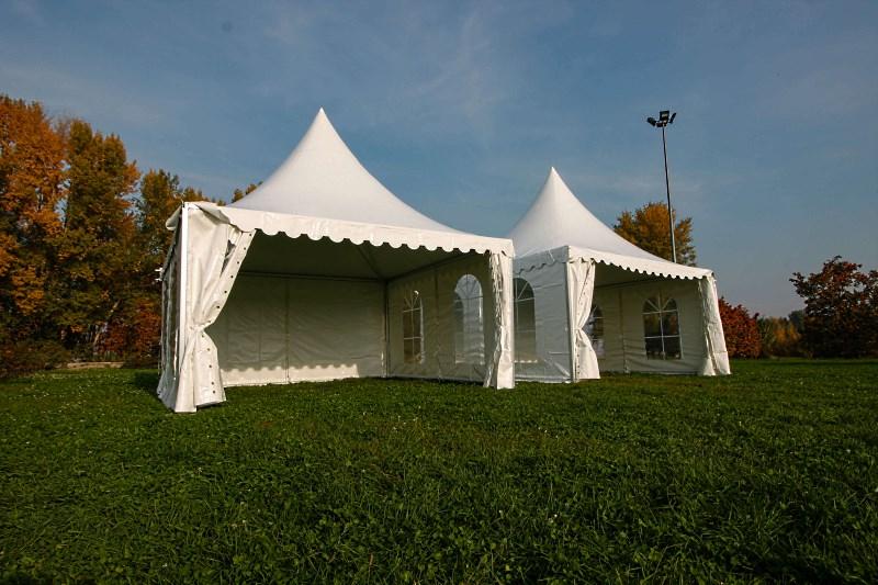 Комплекс из 2 отдельностоящих шатров Пагода 6х6 м