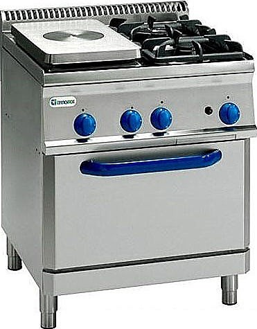 Плита газовая Tecnoinox PFP70GG7, Италия