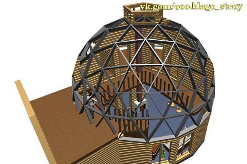 «Проект купольного дома» Производитель: ООО «Благо-строй