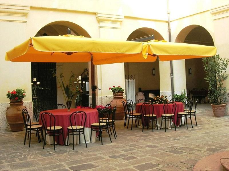 Прямоугольный зонт 7х3,5 «Fellini Wood V»