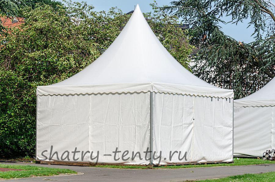 Разборный квадратный шатер Пагода