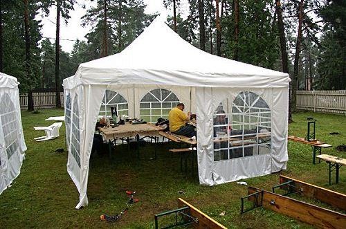 Разборный шатер Пагода для дома и дачи