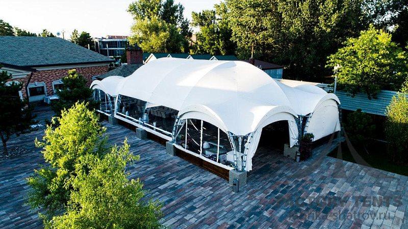 Ресторан в шатре вместительностью 150 человек