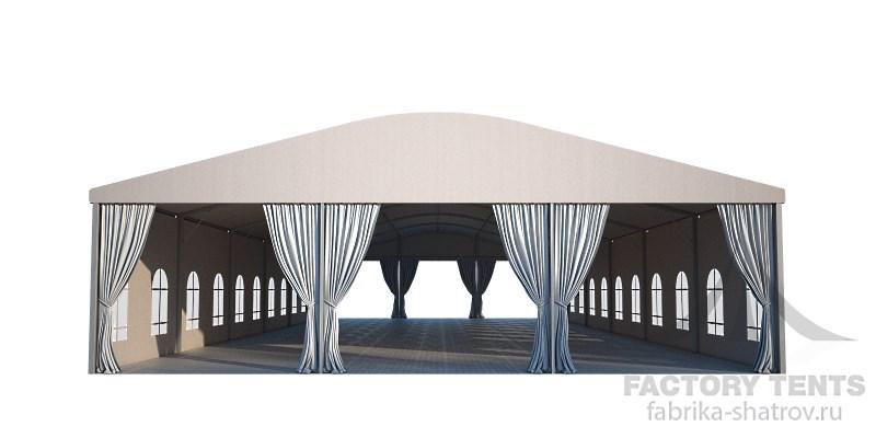 Большой классический шатер 15х30 от компании Фабрика Шатров