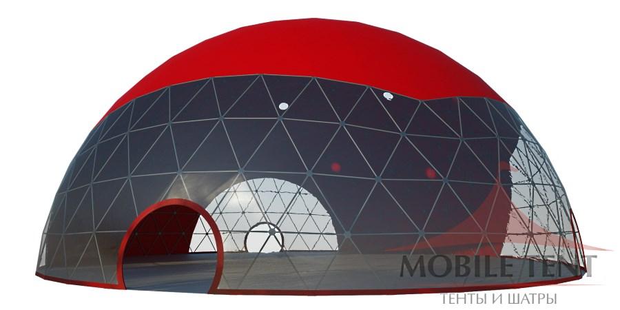 Геодезический шатер диаметр 12м