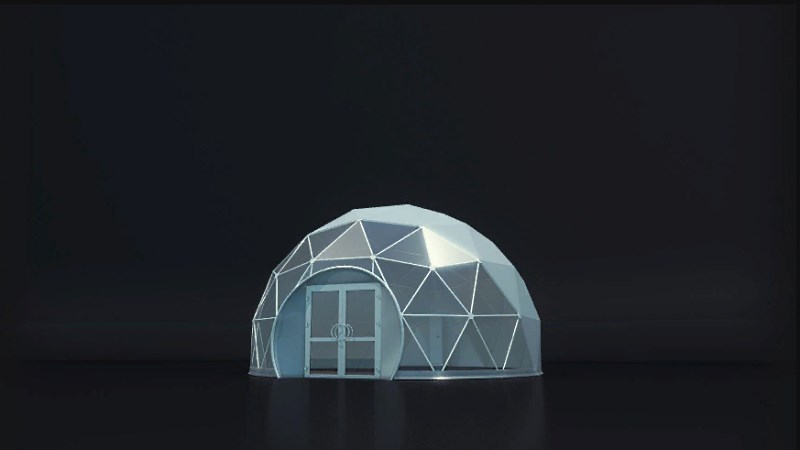 ферический шатер SPHERE D8 Производство: «IMPERIALTENT»