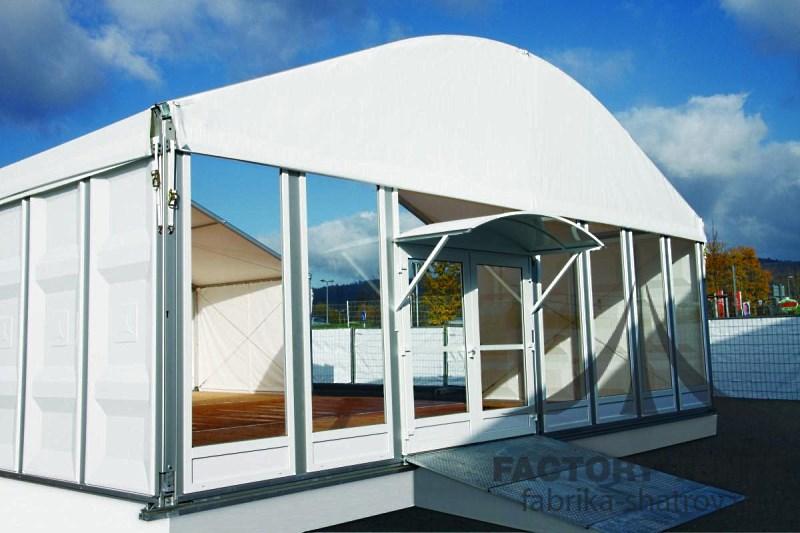 Специальный шатер для выставок 20х30м, производитель Фабрика Шатров
