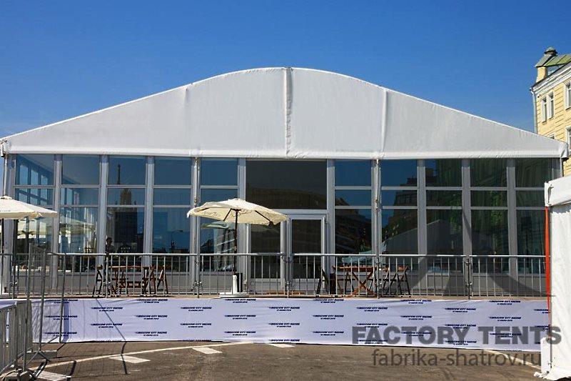 Шатер-павильон на 150 посетителей