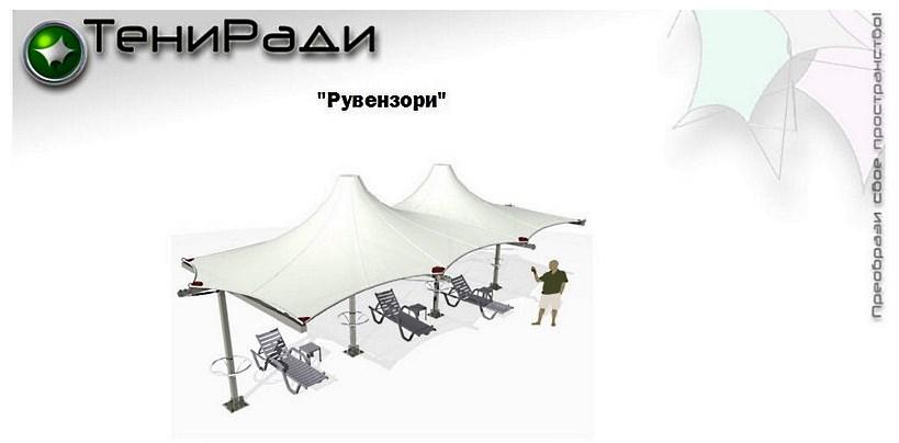 Шатер Рувензори 9х4 м Производитель: «ТениРади» (Россия)