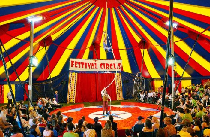 Цирковые шатры для организаторов фестивалей и развлекательных шоу
