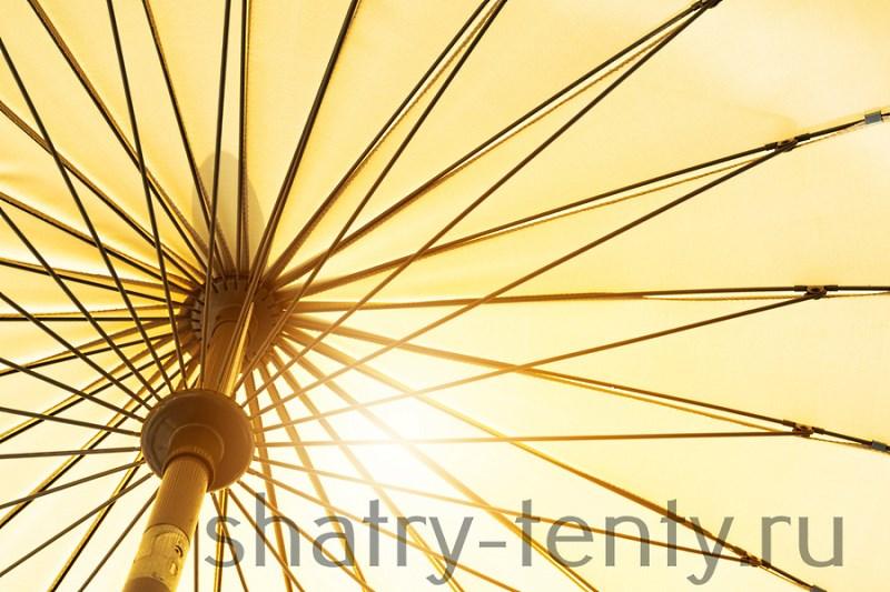 Текстильного часть уличного зонта