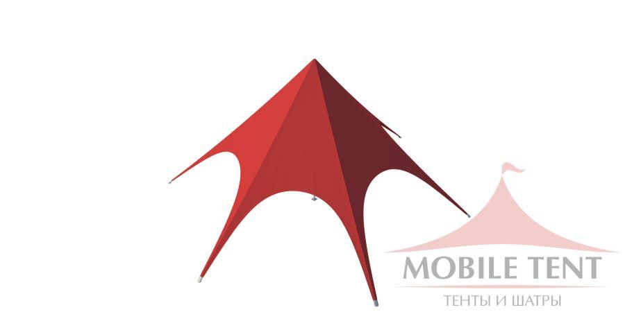 Тент Звезда диаметр 10м, компания Mobile tent, Россия