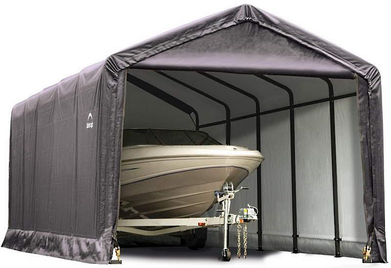 Тентовый гараж-эллинг 3,7х7,6х3,4 м, компания ShelterLogic, США