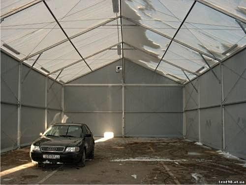 «Тентовый гараж» Производитель: «Профгиб» (Россия)
