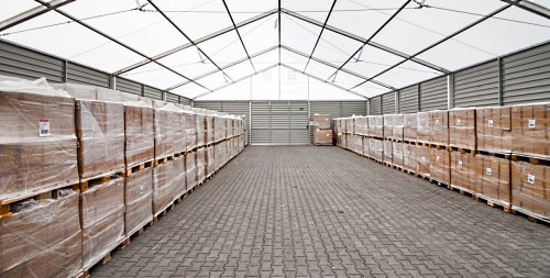 Тентовый шатер для склада 15х40м производитель Фабрика Шатров