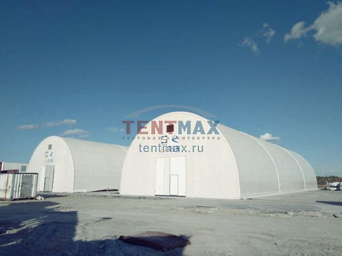 Тентовый склад 15х40м Производитель: «TENTMAX» (Россия)